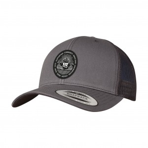 Curved Trucker Dark Grey