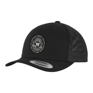 Curved Trucker Black