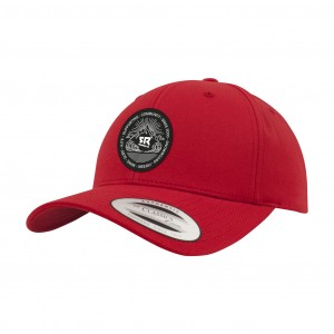 Curved Snapback Red