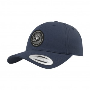 Curved Snapback Navy