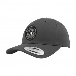 Curved Snapback Charcoal