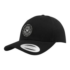 Curved Snapback Black