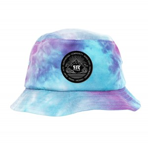 Bucket Hat Tie&Dye Purple
