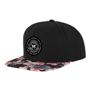 Classic Snapback Floral Red