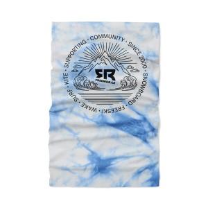 Light Neckwarmer Tie&Dye Blue
