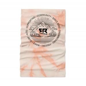 Light Neckwarmer Tie&Dye Pink