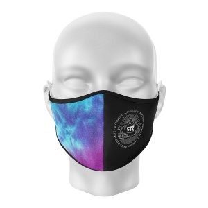 FR Facemask Black/Tie&Dye...