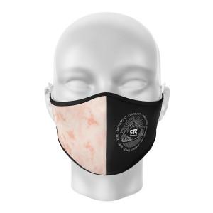 FR Facemask Black/Tie&Dye Pink