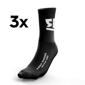 Keep Riding with us Socks...