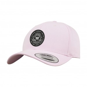 Curved Snapback Pink