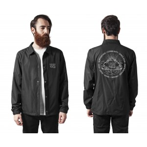 FR Coach Jacket Black